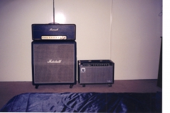 1972 50 Watt Marshall, 412 Cabinet, Music Man HD 130 210