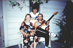 Grandma, Mom, Me, With 1965 Fender Stratocaster (D Width Neck!!!)